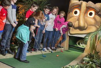 Treetop Adventure Golf Cardiff - Forth Image